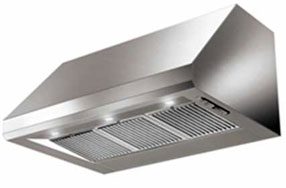 BBQ Canopy Rangehood single motor 914 mm